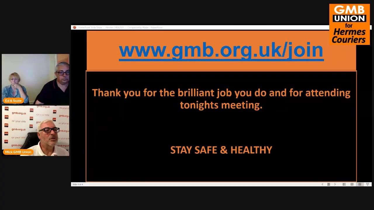 GMB @ Hermes Virtual National Meeting