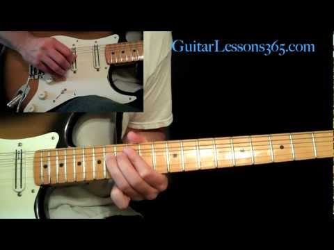 Sweet Child O' Mine Guitar Lesson Pt.4 - Guns N' Roses - 1st & 2nd Guitar Solo - Slash