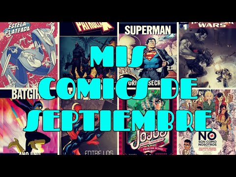 Compras de comics de Septiembre / Manga / Comic Europeo / Novelas Gráficas