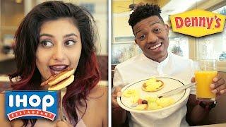 Denny's VS IHOP Taste Test!