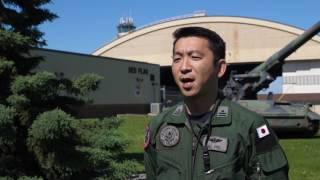 B-Roll JASDF Interview Major Keigo Ito