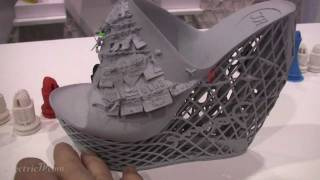 Fashion Designs made with Cubify's 3D printer