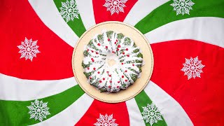How To Make A Beautiful Crunchy Cereal Holiday Wreath • Tasty