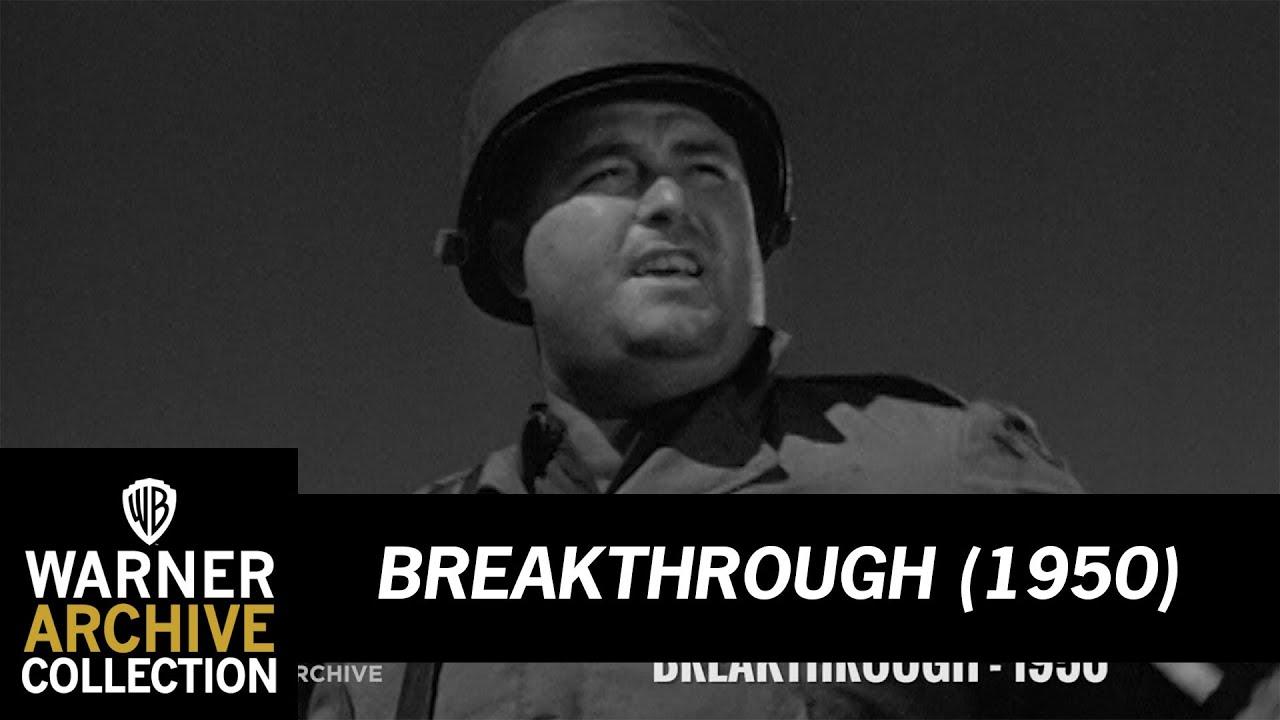 War Movie : Breakthrough - (1950)