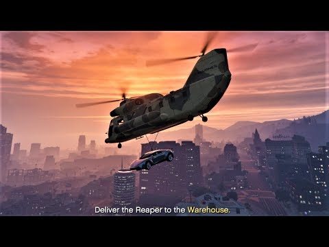 E178Pt1 HOW TO CARGOBOB CEO CAR SOURCING MISSIONS! - Let's Play GTA 5 Online PC 60fps HD