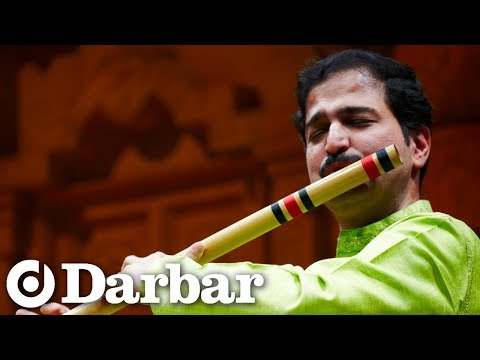 Rupak Kulkarni on the bansuri (flute) at Darbar Festival 2009