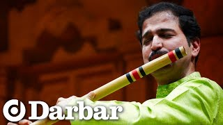 Rupak Kulkarni on the bansuri (flute) at Darbar Festival 2009