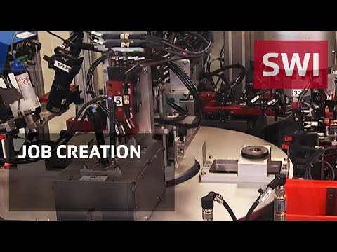 Manufacturing returning to Switzerland thanks to automation