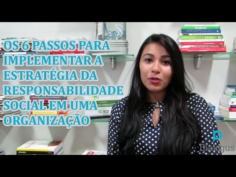 Видео Artigo responsabilidade social