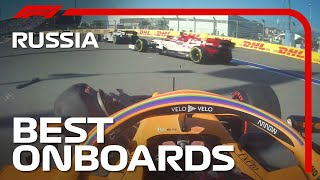 Sainz And Stroll Smash The Barriers And The Best Onboards | 2020 Russian Grand Prix | Emirates