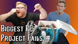Linus and I's Biggest PC Project Fails...