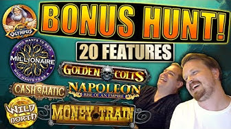 €3500 Bonus Hunt #17, Results from 20 slot features