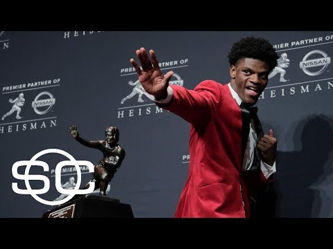 Heisman Trophy winner Lamar Jackson declares for NFL draft | SportsCenter | ESPN