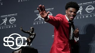 Heisman Trophy winner Lamar Jackson declares for NFL draft | SportsCenter | ESPN