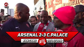 Arsenal 2-3 Crystal Palace | Of Course We Will Get Top 4!! (Ty & Belgium Call Out Refs)