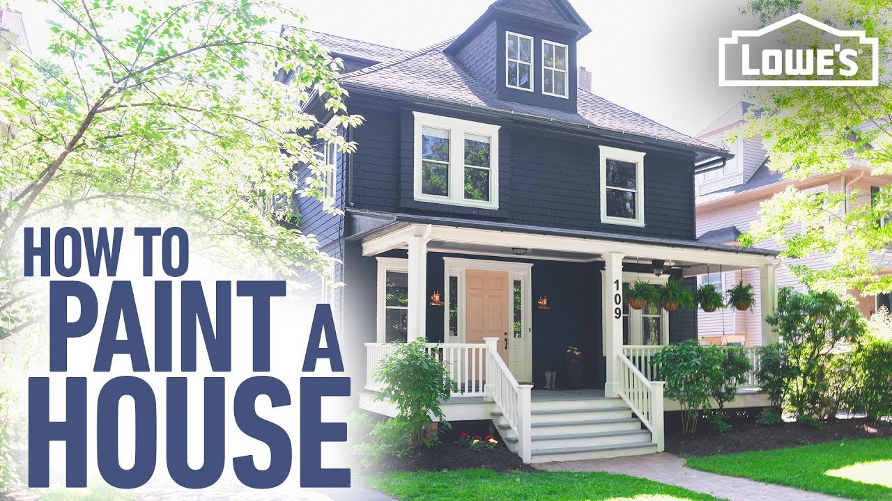 how to paint a house diy exterior painting tips
