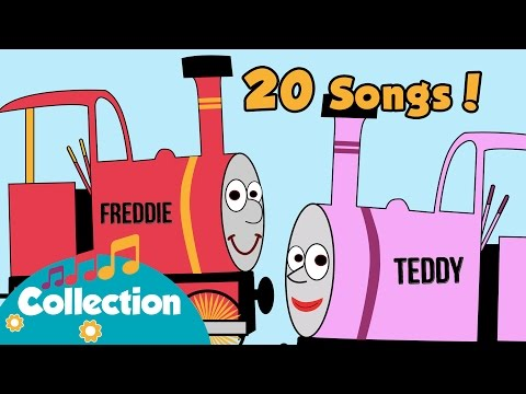 Down At The Station and more | Nursery Rhymes for Toddlers & Train Song
