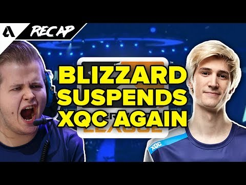 OWL Disciplinary Action - xQc Suspended Again, Taimou Fined - Dallas Fuel OGE | Akshon Recap