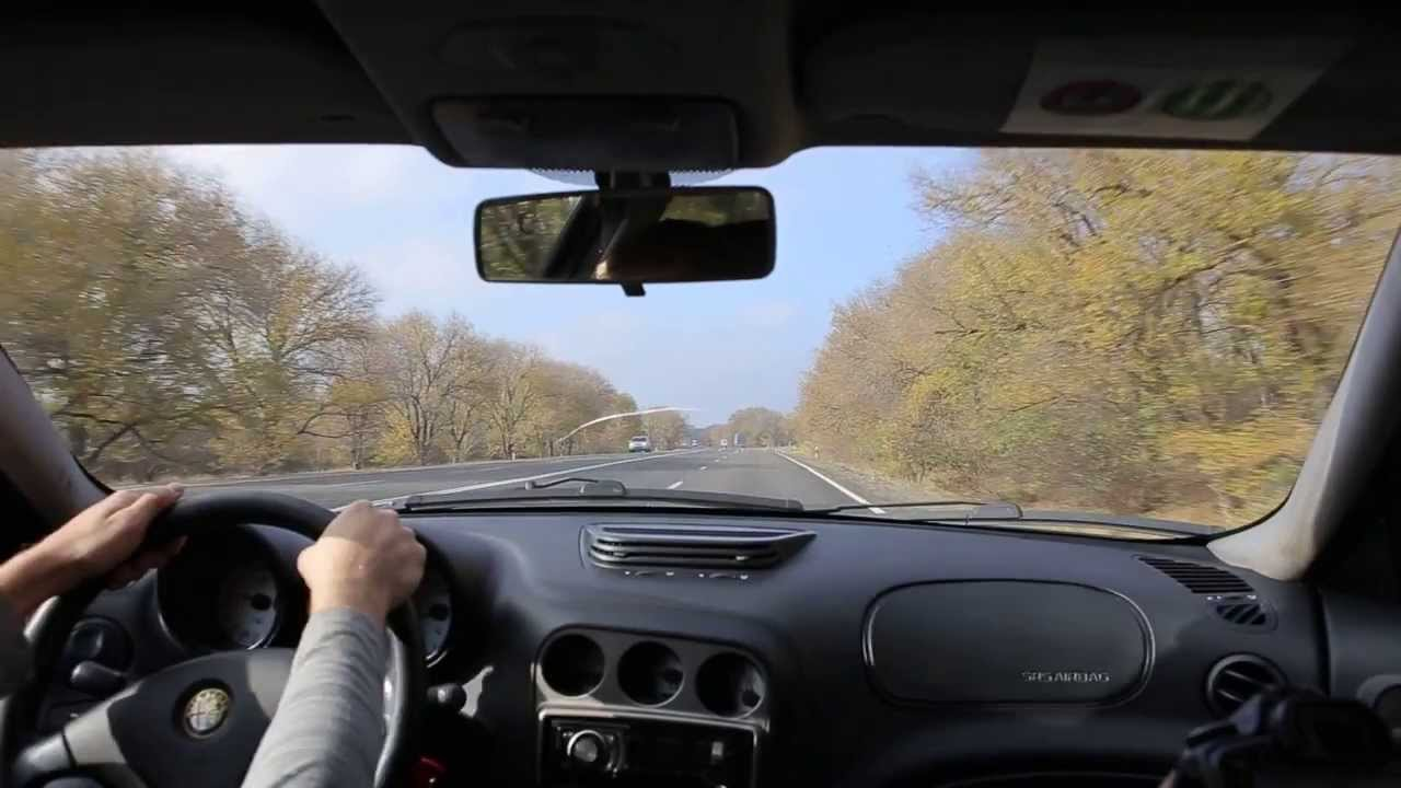 Alfa Romeo 156 тест драйв от Future Motors - YouTube
