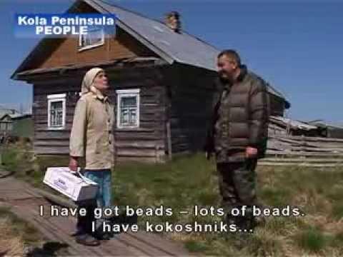 People. Kola Peninsula. Russia