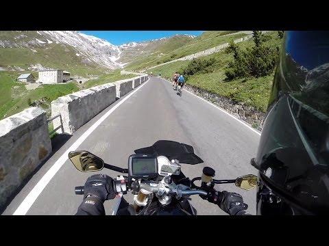 Stelvio Pass on a BMW S1000Rs