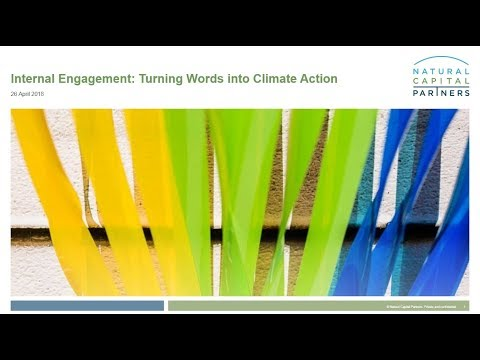 Internal Engagement: Turning Words into Climate Action