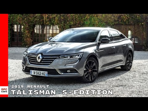 2019 Renault Talisman S Edition