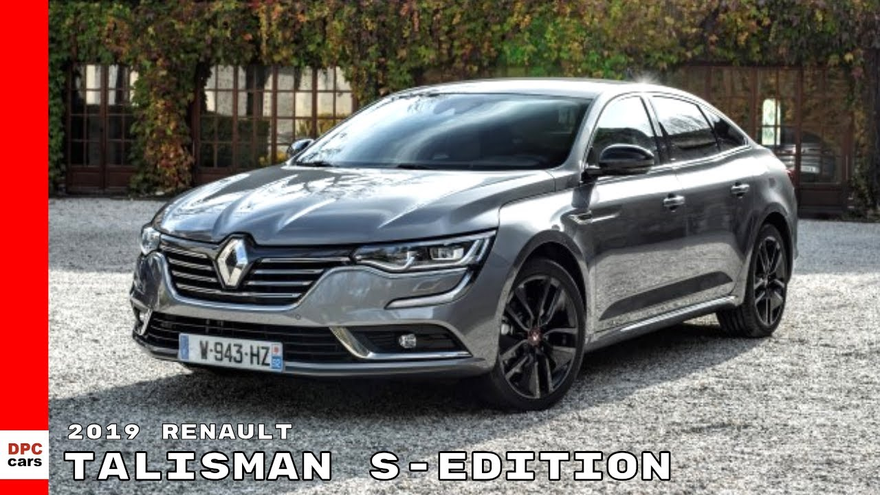 2019 renault talisman s edition youtube. Black Bedroom Furniture Sets. Home Design Ideas
