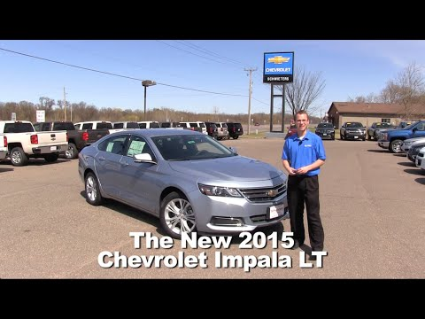Review: The New 2015 Chevrolet Impala LT Minneapolis, St Cloud, Cold Spring, Willmar, MN