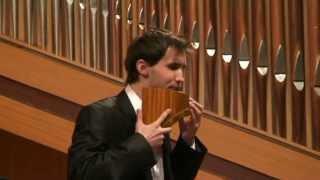 C. ARVINTE: Rapsodia Moldava, Cezar CIUCIUM -- pan-flute (nai)