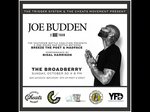 Joe Budden Rage Tour One Off: Breeze The Poet vs Madface (Full Battle)