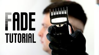 Men's haircut tutorial - How to cut skin fade (The Star Barber Lesson )