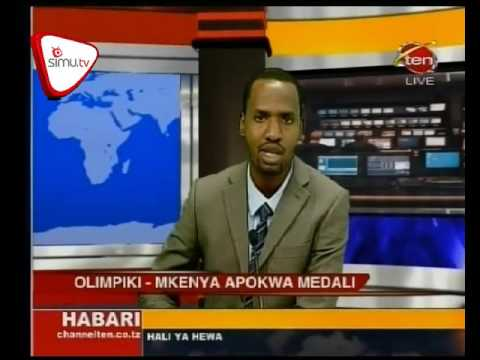 Mkenya Apokonywa Medali Olympic