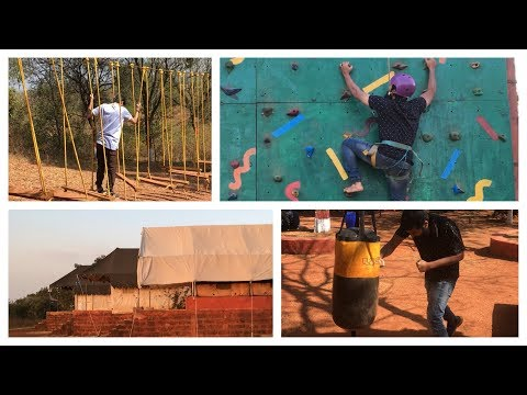 Deccan trails adventure resort | Rock climbing, Burma bridge, trampoline | Hyderabad