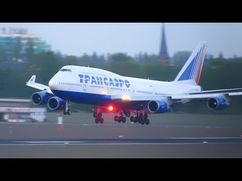Wonderful Evening of Planespotting at Berlin Tegel Airport TXL - 30 minutes [Full HD]
