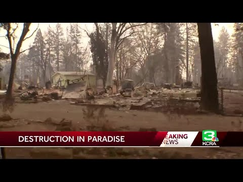 Destruction in Paradise: A look at the damage from the Camp Fire