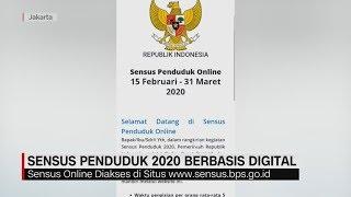 Sensus Penduduk 2020 Berbasis Digital