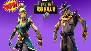 NEW SCARECROW SKINS DARK BOMBER PICKAXE LEAKED! Fortnite Battle Royale