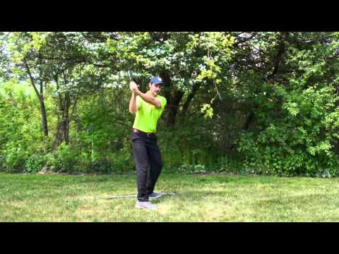 The Golf Swing Simplified With This Home Drill – Swing Natural Like Baseball