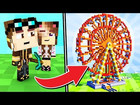 LA MIA CASA DIVENTA UN PARCO GIOCHI! - Casa di Minecraft LIVE