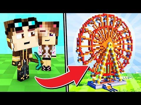 COSTRUIAMO UN PARCO GIOCHI SU MINECRAFT! - Casa di Minecraft LIVE