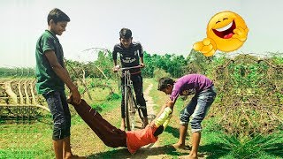 Must Watch New Funny 😂  Comedy Videos 2019 - Episode 6 || Funny Village Boys
