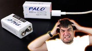 Aliexpress взрывает мозг! Купил USB аккумуляторы крона PALO и офигел!