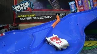 Hot Wheels On The Micro Drifters Motorized Super Speedway