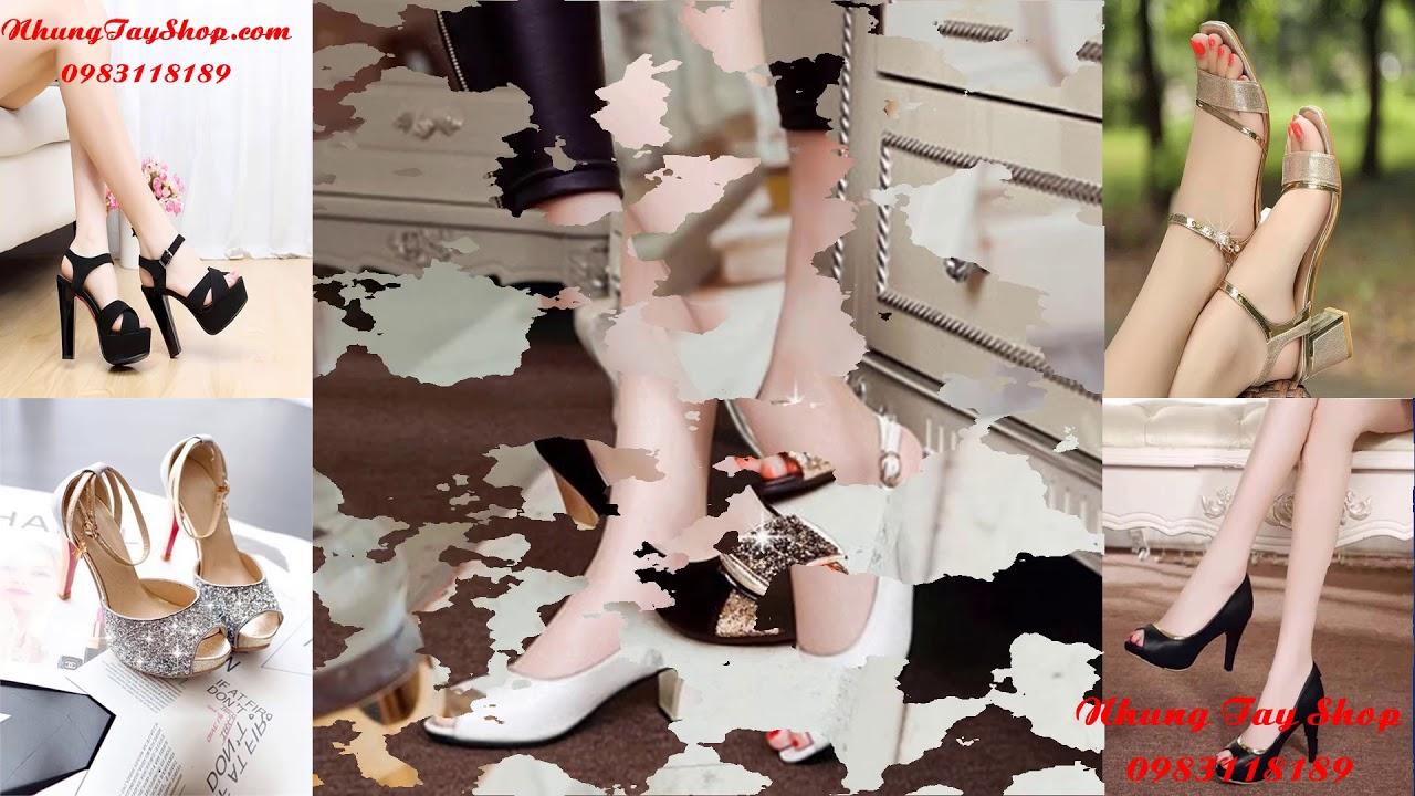 Xu Hướng Giày Nữ Đẹp 2018 – Nhung Tây Shoes