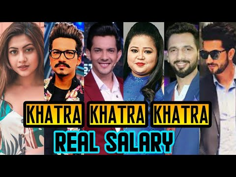 SHOCKING SALARY: Khatra Khatra Khatra Actors per episode Salary || Bharti Singh || Harsh Limbachiyaa