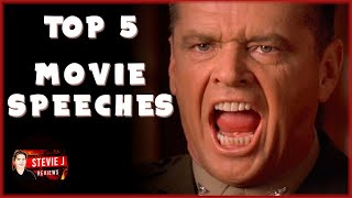 Top 5 (Movie Speeches) - That Made an Impact