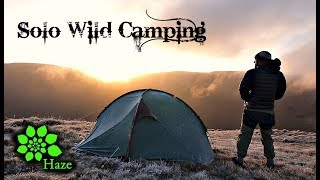 Solo Wild Camping in Freezing Conditions   English Lake District