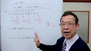 中2数学 じゃんけんと確率・2人の場合 (5分で学習) thumbnail