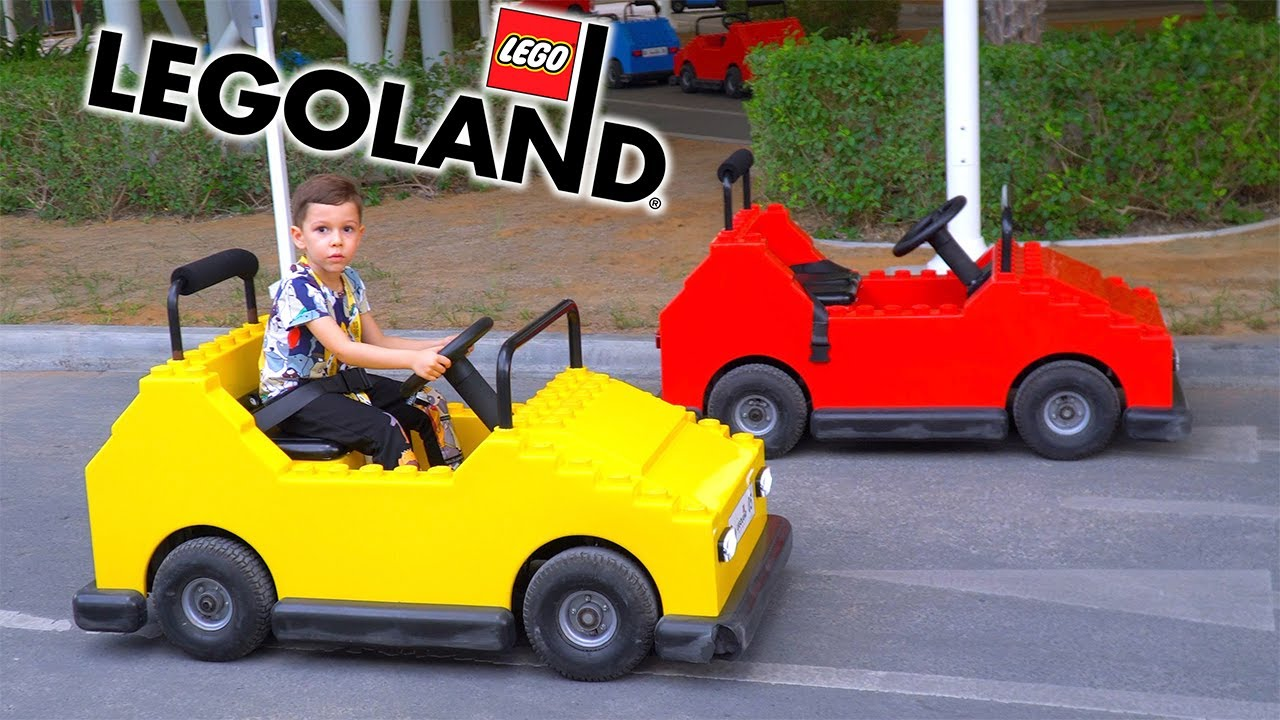 Artem Play At The Playground LegoLand Funny Stories